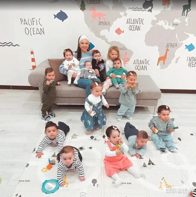 格魯吉亞美女嫁土耳其富商養30個娃,希望通過代孕組建成最大傢庭-圖4