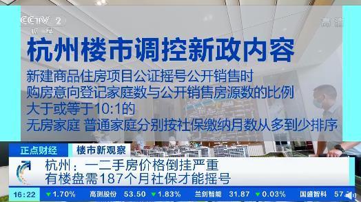 杭州一、二手房價格倒掛嚴重!購房者靠拼社保搖號,有樓盤需187個月社保才能搖號-圖2