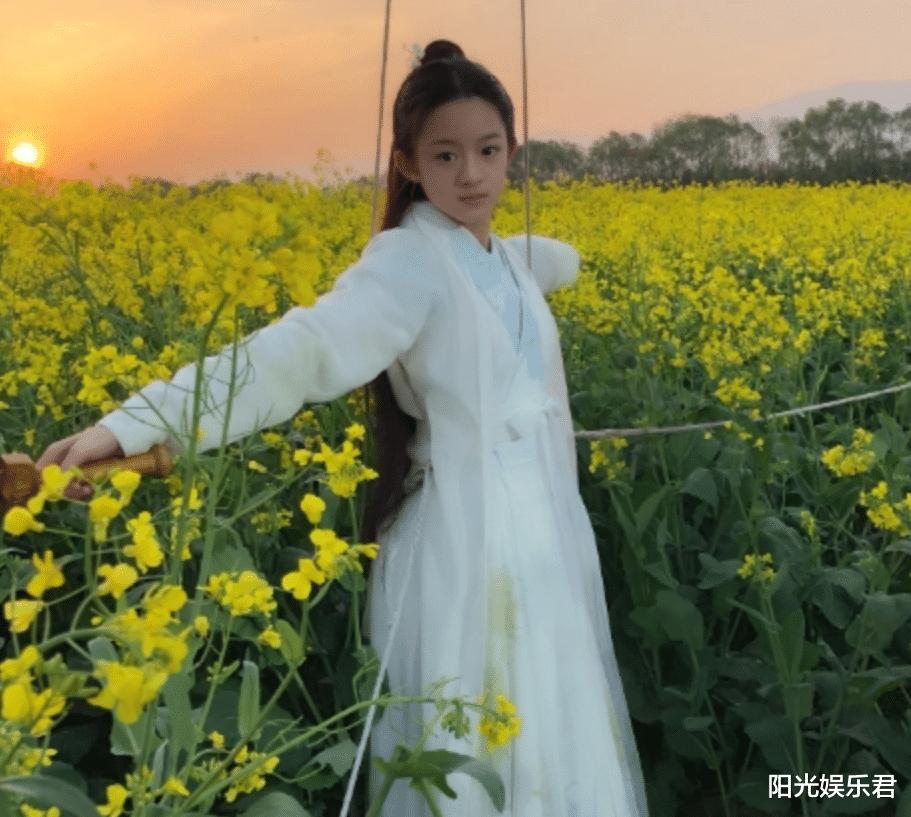 楊冪旗下14歲童星出演新版趙靈兒,她或許會成為下一代頂流-圖6