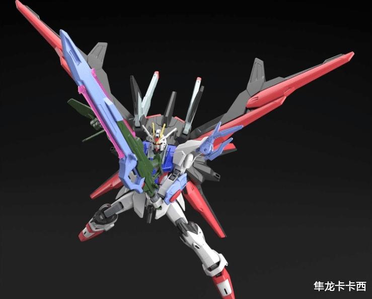 HG完美強襲自由高達官方CG公開 基神:拉克絲都縫不出的最強座駕-圖5