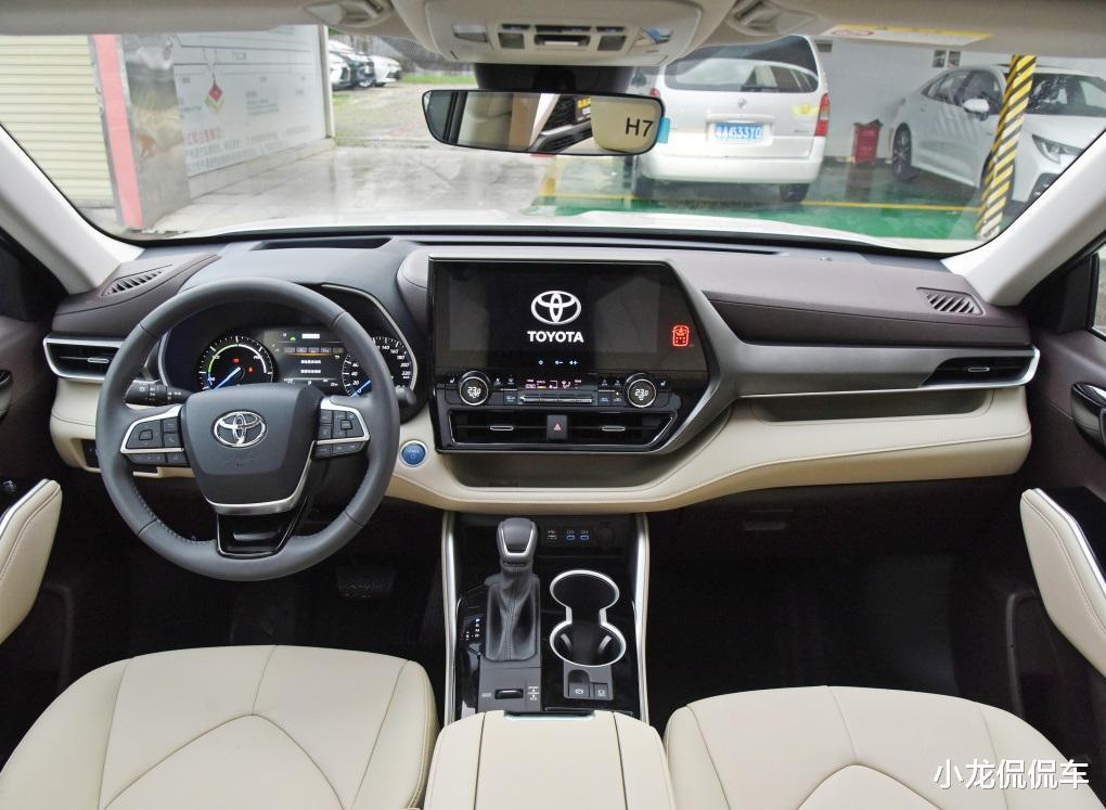 第四代豐田漢蘭達來襲,外觀大氣,油耗6.1L,有望7月上市-圖5