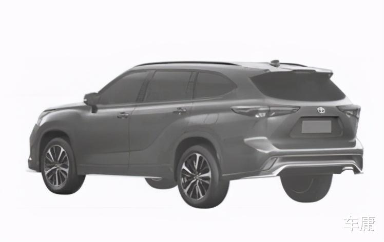 對標大眾途昂,一汽豐田全新中大型SUV即將上市-圖4