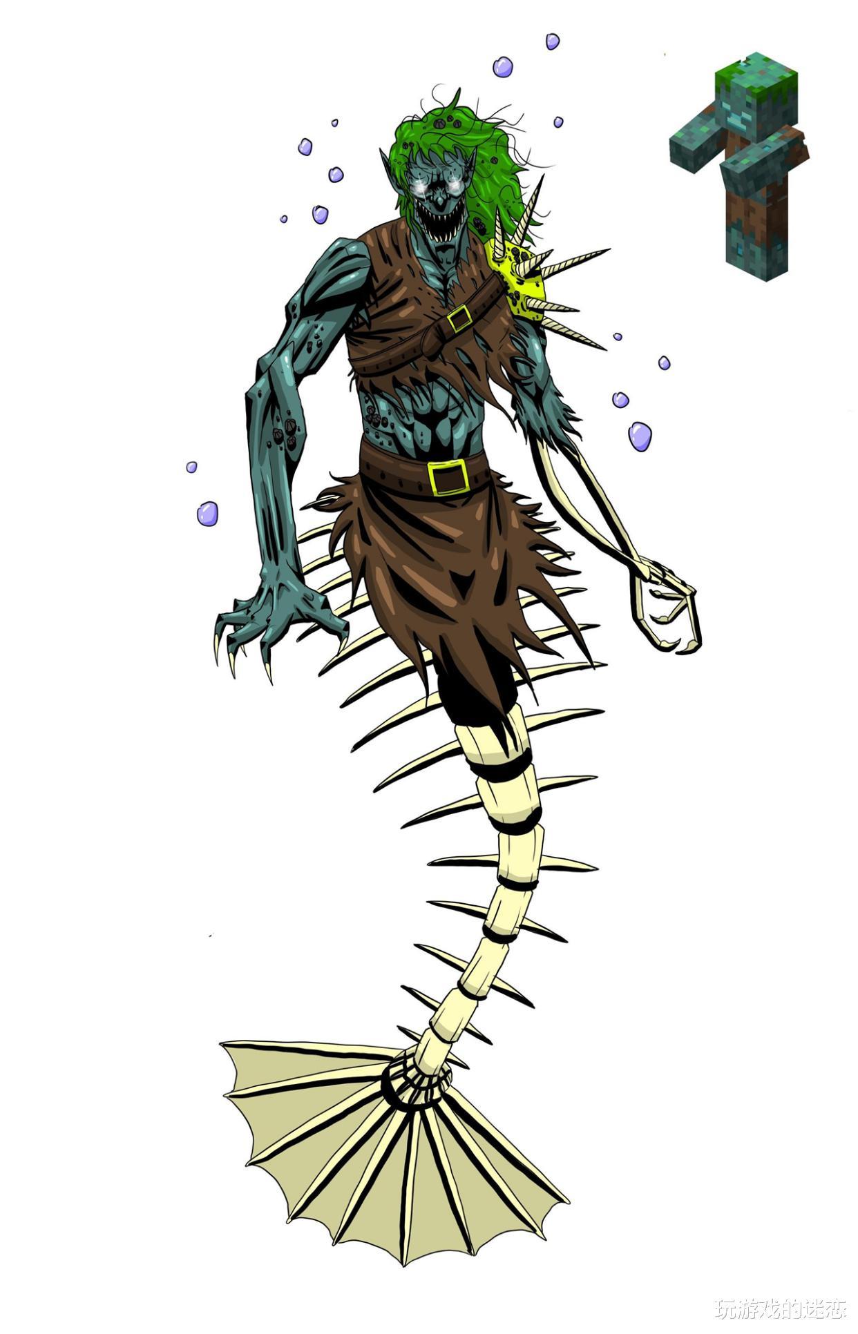 我的世界:八種生物去方塊化,效果怎麼樣?玩傢:MC是個恐怖遊戲-圖7
