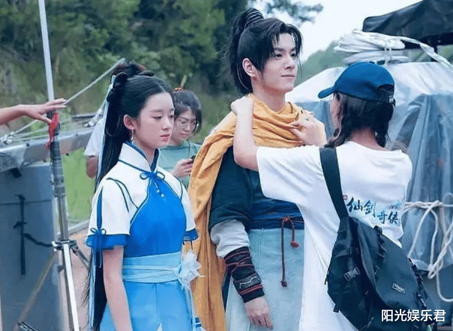 楊冪旗下14歲童星出演新版趙靈兒,她或許會成為下一代頂流-圖4