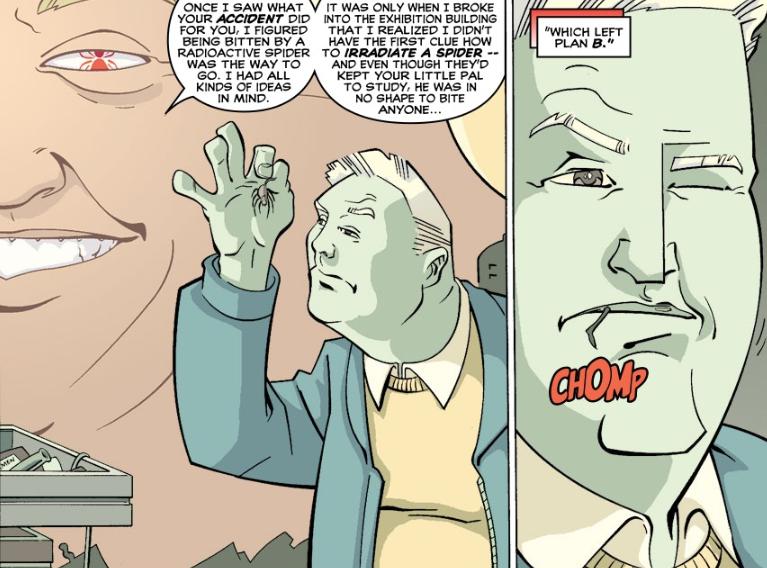 將彼得咬成蜘蛛俠的那隻蜘蛛後來怎麼樣瞭?後續故事漫威都不敢拍-圖6