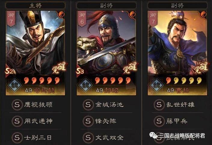 三國志戰略版s3賽季7套主流陣容:上限T0保底T1,全是頂配!-圖2