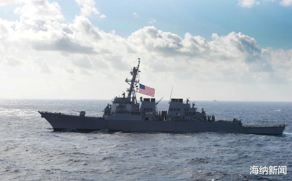 美政客訛詐中國失效,美艦再度現身臺海挑釁,解放軍這次火速行動-圖2