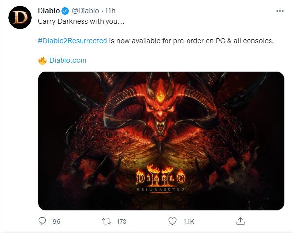 《暗黑破坏神2:重制版》9月17日开启预售,全平台刷刷刷