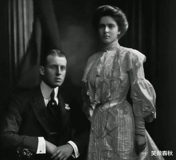 菲利普親王的美貌娘親,天生耳聾被丈夫折磨成神經病,卻優雅一生-圖6