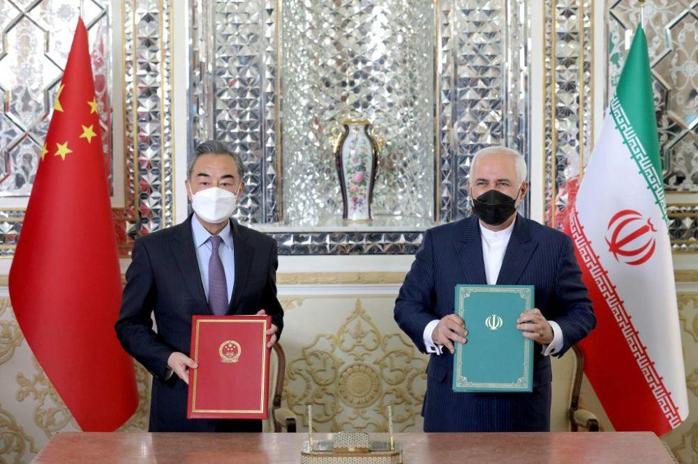 伊朗想兩頭通吃?與中國達成協議後,又與美國談判中大打中國牌-圖7
