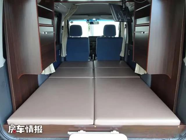 約10萬元就能買到的豐田床車!長度3.2米比飛度還小,有水電住2人-圖5