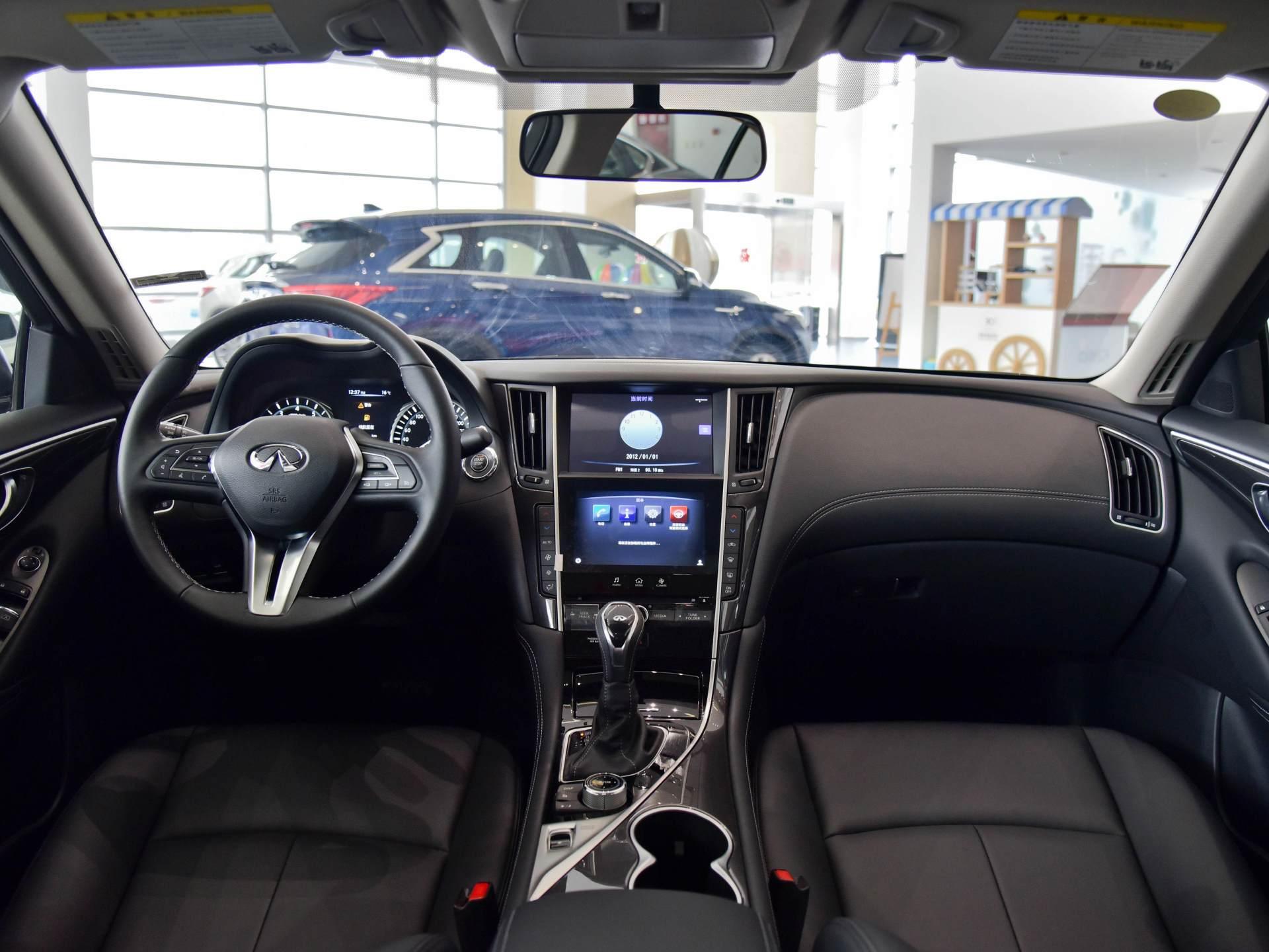 奔馳動力總成的日系豪華轎車,質感不錯,實拍英菲尼迪Q50L-圖4