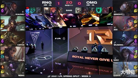 LOL:RNG雙子星單場斬下兩個五殺,2-0橫掃OMG收獲三連勝-圖4