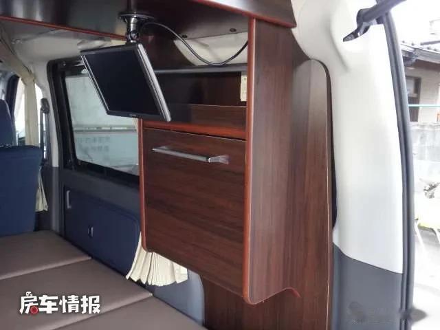約10萬元就能買到的豐田床車!長度3.2米比飛度還小,有水電住2人-圖9