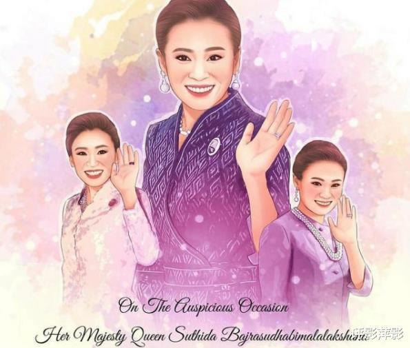 中文王室海報來瞭,誠心祝福蘇提達,華裔王後鳳凰來儀-圖10