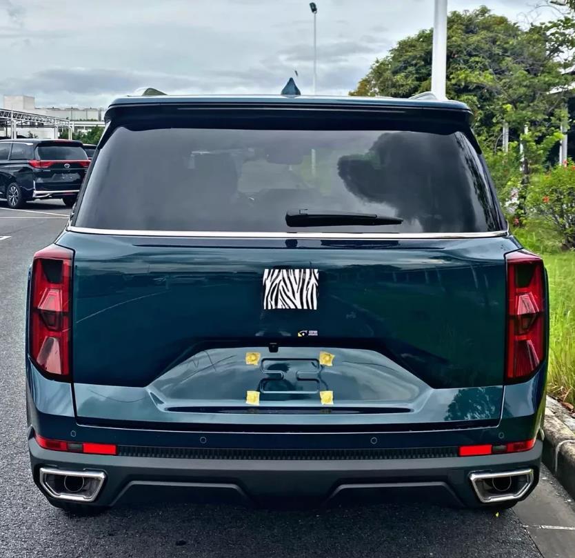 來勢洶洶的國產SUV,起步愛信8AT,還有漢蘭達同款混動,9月上市-圖4