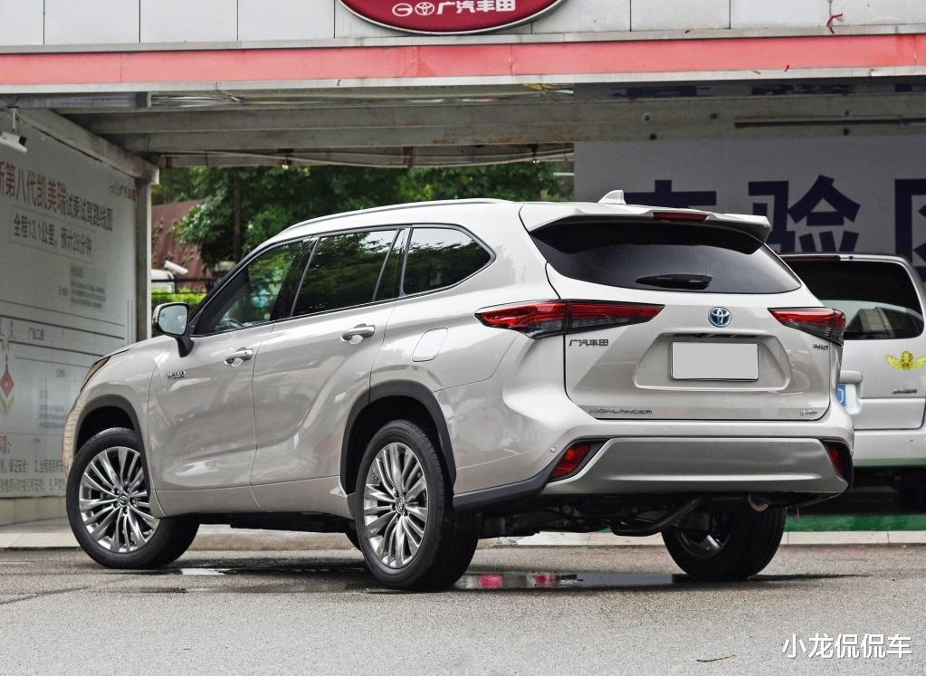 第四代豐田漢蘭達來襲,外觀大氣,油耗6.1L,有望7月上市-圖4
